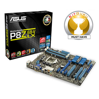 Ivy Bridge kompatibel: ASUS P8Z68-V LX Mainboard Sockel 1155 Z68 ATX DDR3 Speicher - Hackintosh osx86 kompatibel!