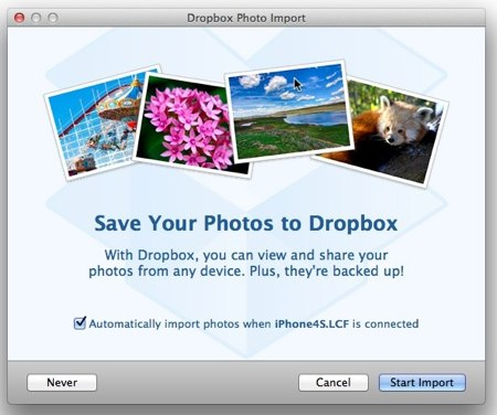 dropbox kamera video beta client 5gb free extra space