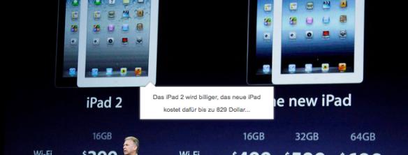 Apple iPad 3 HD - kein LTE in Österreich und Deutschland!