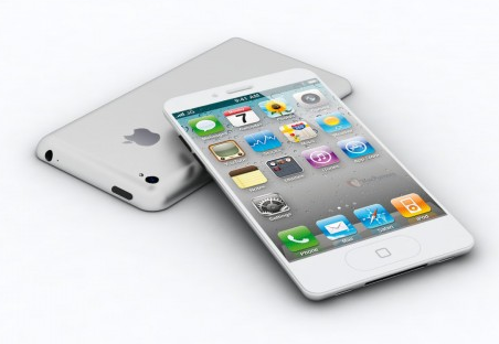 Apple's nächstes iPhone 5: sneak peek eines neuen designs?
