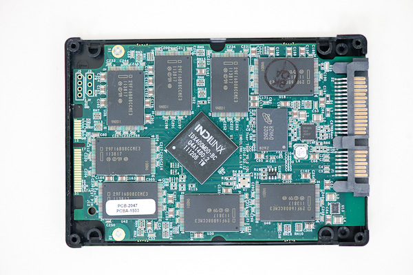 Ocz vertex 4 solid state ssd drive internal open opened via anandtech