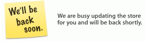 Apple Store nicht erreichbar wegen routine maintainance? Oder mögliches Update der Macbook Pro, Mac Pro oder iPhone Serie?