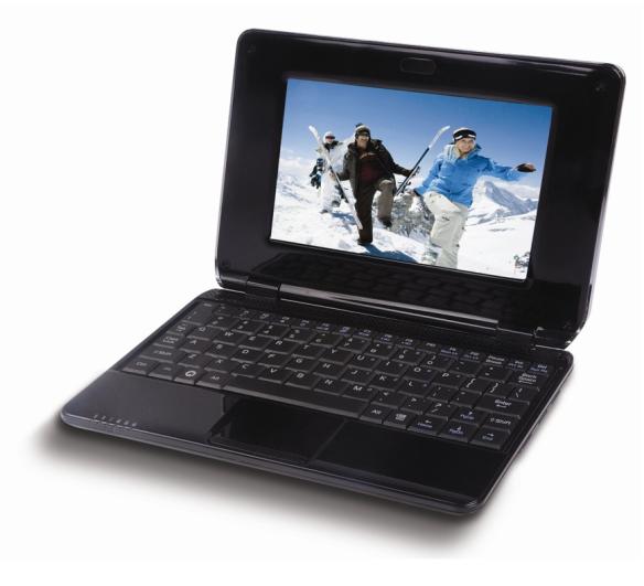 Das Corby NBPC 724 ist das günstigste Netbook da draussen, inklusive Android und WLAN kostet es nur knapp über 50€