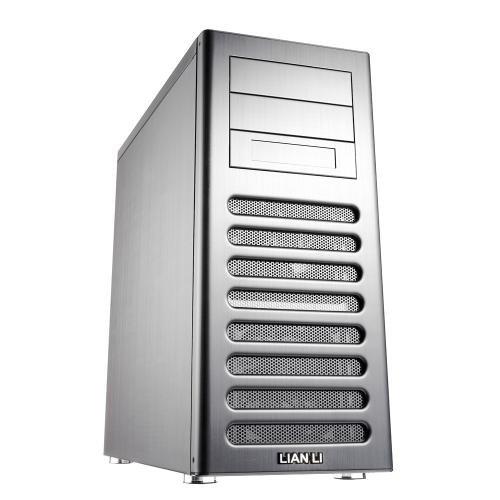 Das Lian Li Gehäuse kommt einem Apple Mac Pro oder G5 Gehäuse schon sehr nahe. Eine bessere Schalldämmung und optimale Erweiterbarkeit macht es zum perfekten Hackintosh und Customac Gehäuse.
