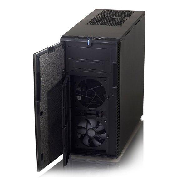Das Fractal Design Define R3 ist ein nahezu perfektes Hackintosh Case in Schwarz. Schallgedämmt und mit vielen Erweiterungsslots ist es ein sehr preiswertes Gehäuse, mit dem der Rechner nahezu flüsterleise läuft. Empfehlung!